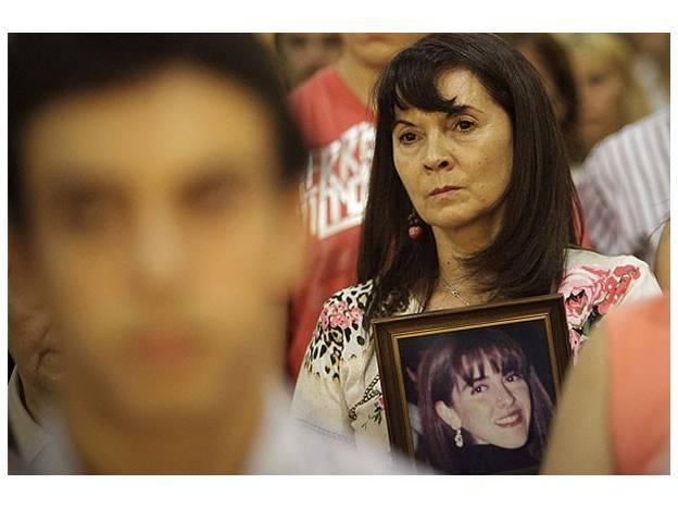 Susana Trimarco en el juicio.