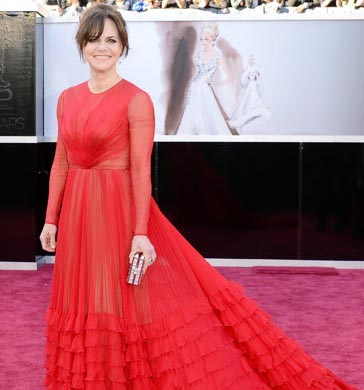 Sally Field por Valentino