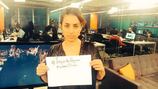 Devuélvannos a nuestras chicas #BringBackOurGirls
