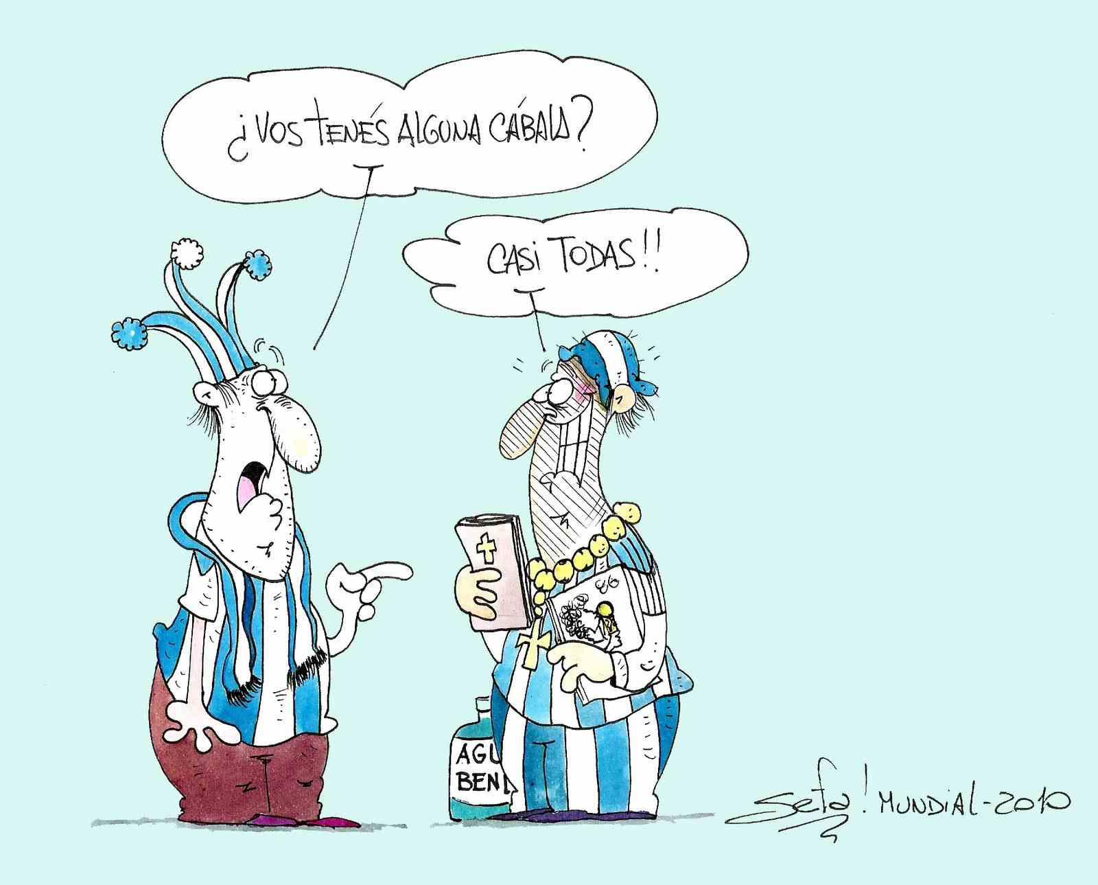 Mundial: cábala, ¿mete gol?