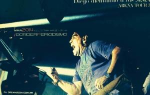 #MMA: la última pasión de Diego Maradona