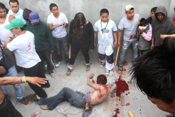 En Argentina se aplica la Ley del Talión (y no somos musulmanes)
