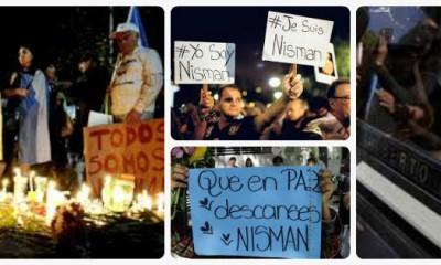 Collage Encuesta Nisman