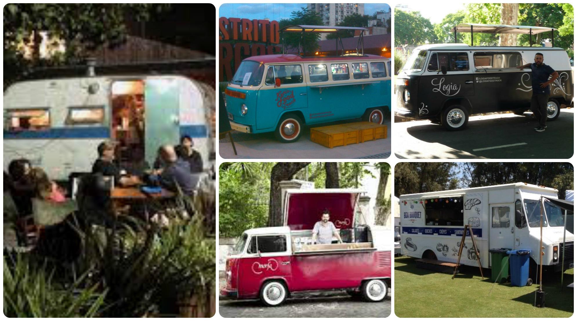 #FoodTrucks: el Dakar gastronómico está listo para recorrer Buenos Aires!