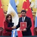Cristina Kirchner y el Presidente chino Presidente Xi Jinping