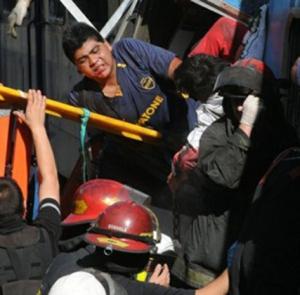 """Norma, víctima de la tragedia de #Once: """"El Estado nos abandonó"""""""