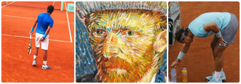 Semejanzas y diferencias entre Rafael Nadal y Vincent Van Gogh