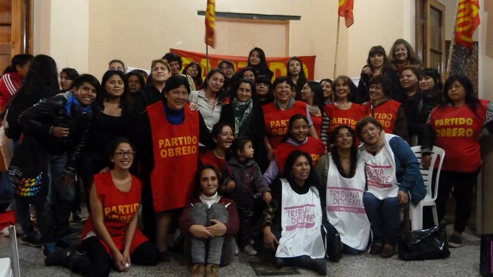 Salta, capital mundial de las mujeres trotskistas