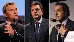 Scioli, Macri y Massa dan un giro a sus campañas en el tramo final