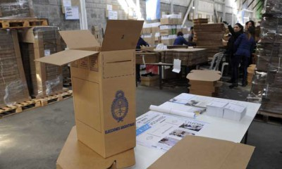 Operativo electoral: se confirman las primeras medidas para evitar sospechas en octubre -