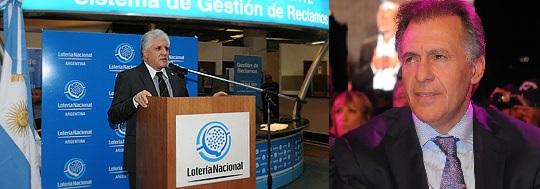 El presidente de Lotería Nacional se compró un auto con un crédito del banco de Cristóbal López