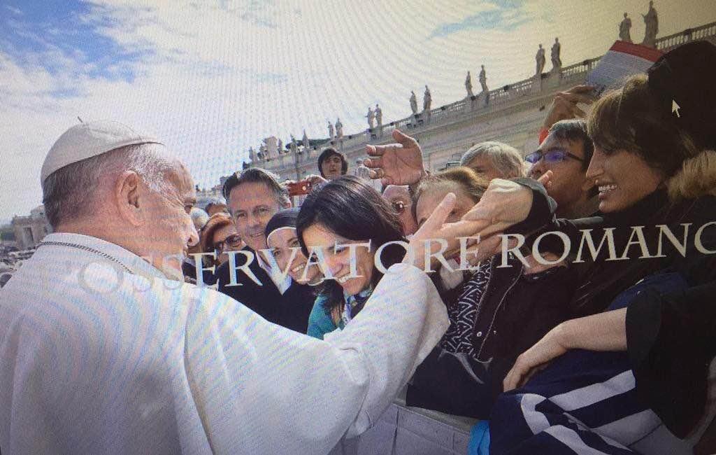 Xipolitakis saluda al papa