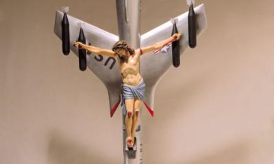 La civilización cristiana y occidental, obra de León Ferrari que provocó la furia de Bergoglio.