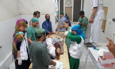 Kunduz, en el bombardeo