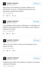 Santoro tuits
