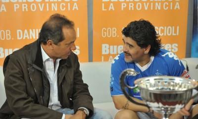 Scioli Maradona