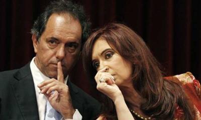Scioli y Cristina