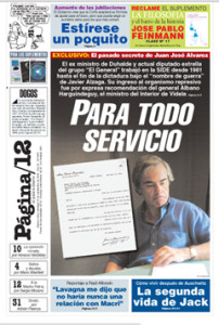 Tapa Página sobre Álvarez