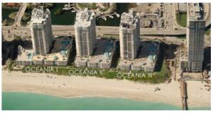 Edificio Oceania vista aérea