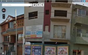 El edificio donde compraron Gollán y Méndez.