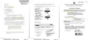 La transferencia a K Joro, la firma creada por Saade. Y el certificado de aprobación de la venta por parte del concorcio del complejo Oceania III
