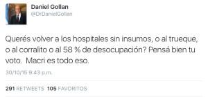 Tuit Gollián trueque