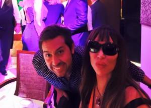 Javier Reinholcz y otra amiga de Oyarbide, Moria.