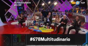 Los panelistas de 678