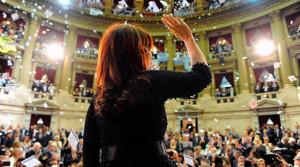 Cristina y los tiempos de la Escribanía en el Congreso.