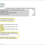 En observaciones declara sus bienes en Brasil, entre ellos, una empresa de 30 millones de pesos.