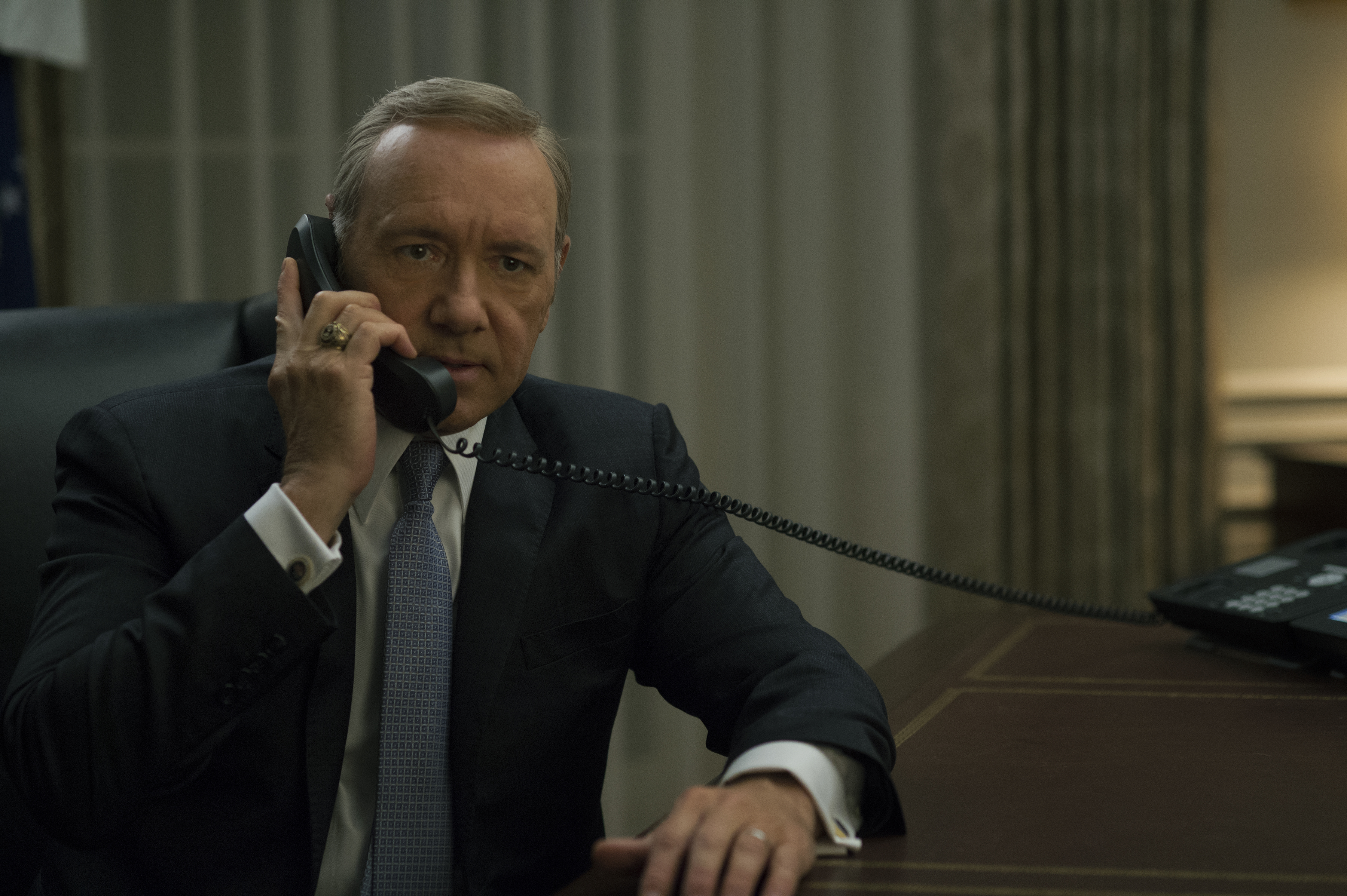 Volvió House of Cards: la casa no está en orden
