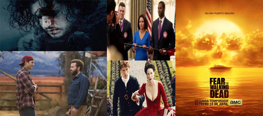 Festival de series en abril en la TV