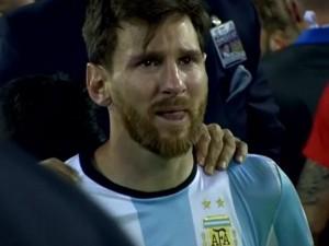El llanto de Messi que recorrió el mundo.