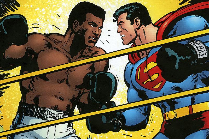 El día que Muhammad Alí le ganó a Superman