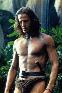 Christophe Lambert, rey de la selva ochentoso.