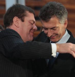 El embajador Montenegro, con Macri. Enojos telefónicos.