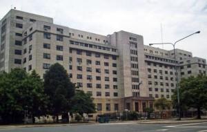 Los tribunales de Comodoro Py donde se reactivó la Justicia.