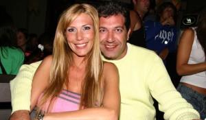 Minnicelli y su ex, Celina Rucci.