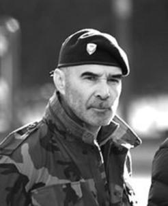 Gómez Centurión combatió en Malvinas y participó de los levantamientos carapintadas.