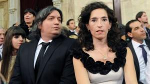 La principal referente del plan era Rocío García, esposa de Máximo.