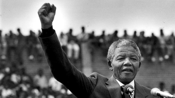 Admiración confesa Mandela