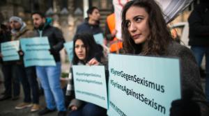 Protestas por el acoso callejero en Colonia.