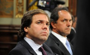 Alberto Pérez y Scioli.