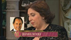 Paula Oliveto. Estuvo con Mirtha Legrand y llamó Scioli.