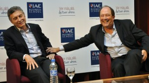 La relación entre Macri y Sanz, según cuentan, sigue intacta.