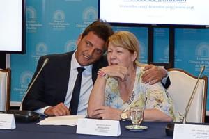 Margarita y Massa, blancos colaterales de la denuncia a Scioli.