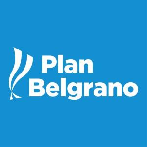 El logo del Plan Belgrano, que busca capitalizar el Gobierno.