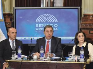 Gustavo Arribas (izquierda) y Silvia Majdalani, jefes de la AFI