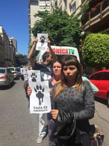 Activistas autoconvocados. (Foto: Denise Murz)