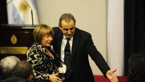 Marta Cascales y su marido, Moreno.
